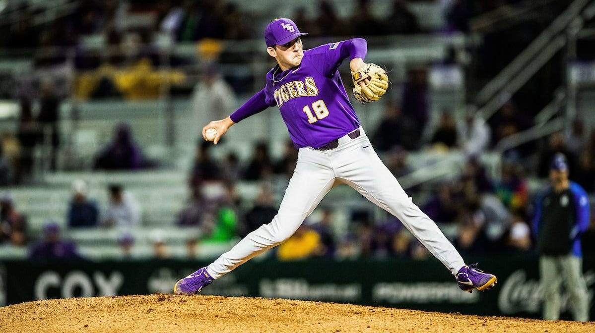 LSU roars back after four straight losses to beat Florida 13-1 and even series at 1-1