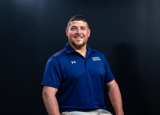 Derrick Franchak of Carencro has been named All-Acadiana Wrestling Coach of the Year.