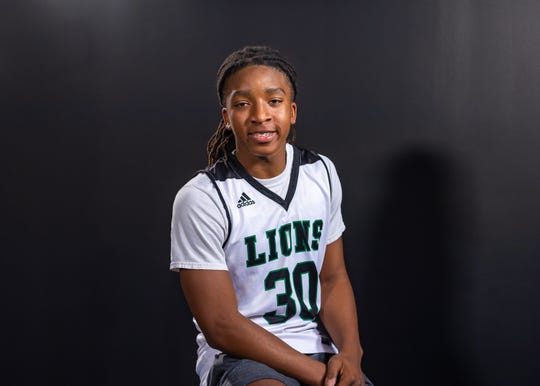Kendrick Delahoussaye --  Lafayette High, Soph.  Favorite athlete: Kobe Bryant.  Biggest influence: My family.  What actor/actress should play me in a movie: Kevin Hart.  Favorite sports movie: Thunderstruck. Post-game meal: Subway.