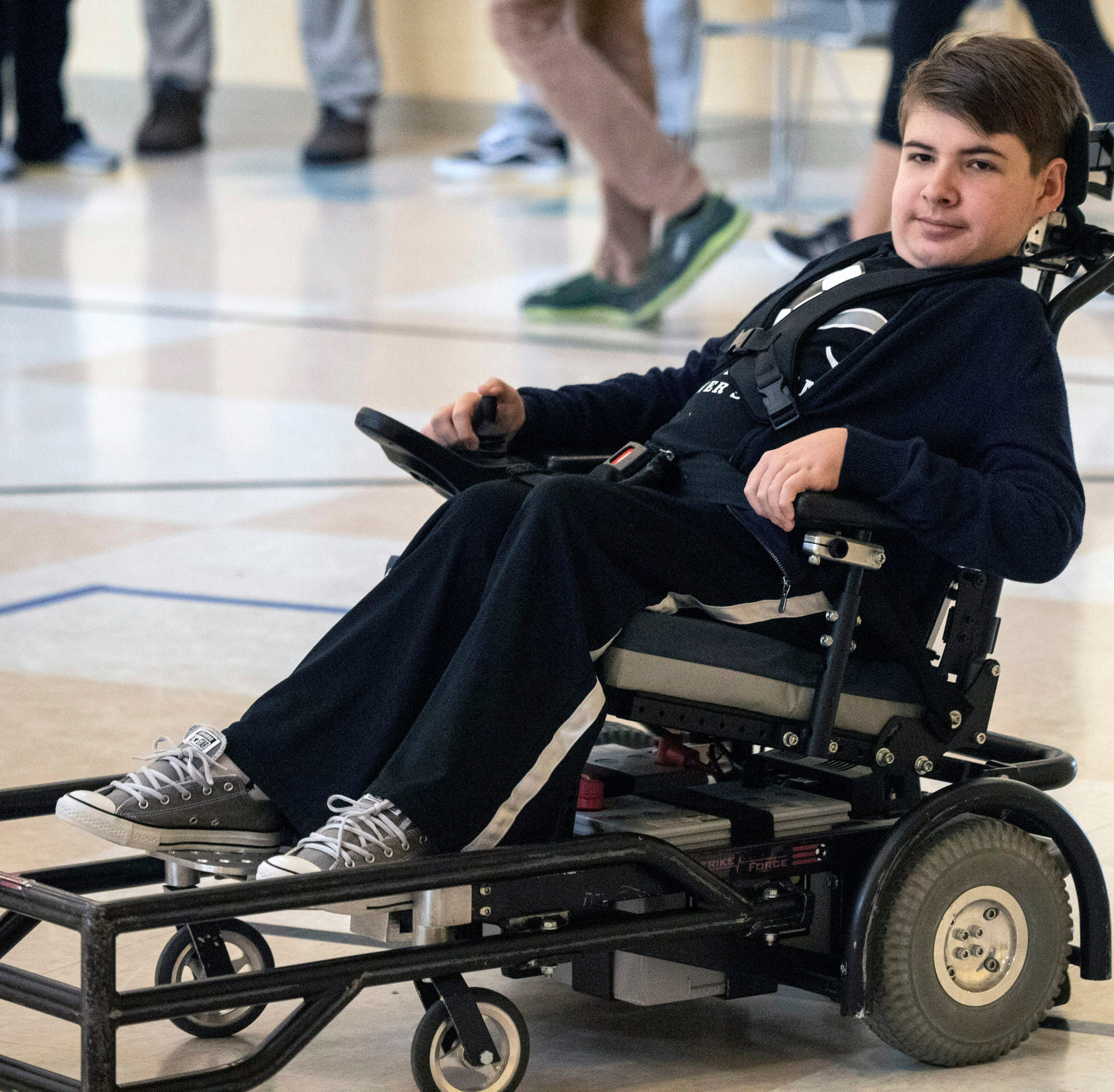 Power wheelchair soccer team is taking off with help of Louisville City FC