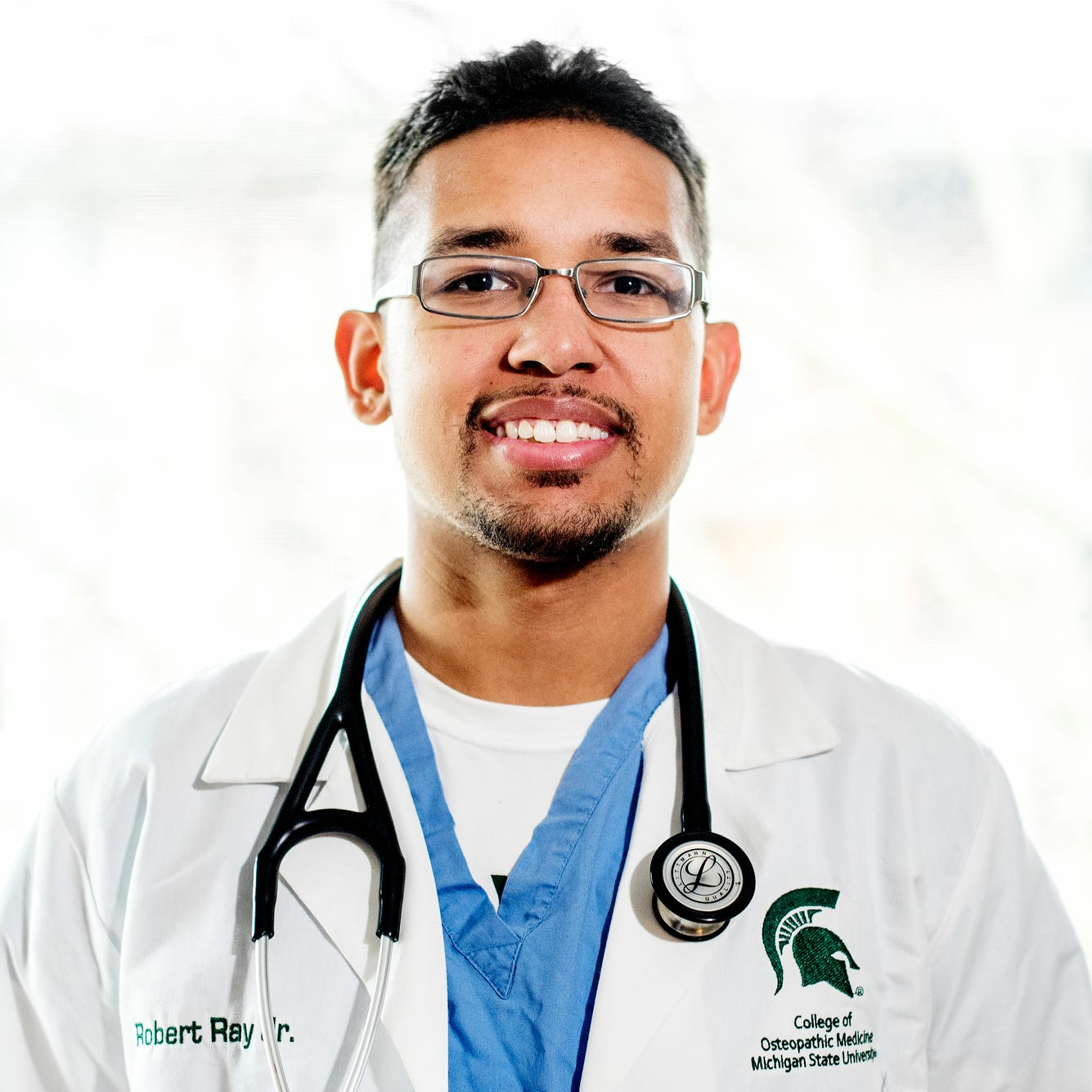 From foster care to Sexton valedictorian to MSU med school: Robert Ray Jr.'s success story