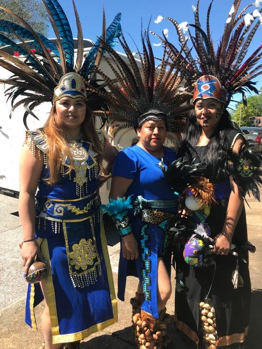 Dancers with Danza Quetzalcoatl