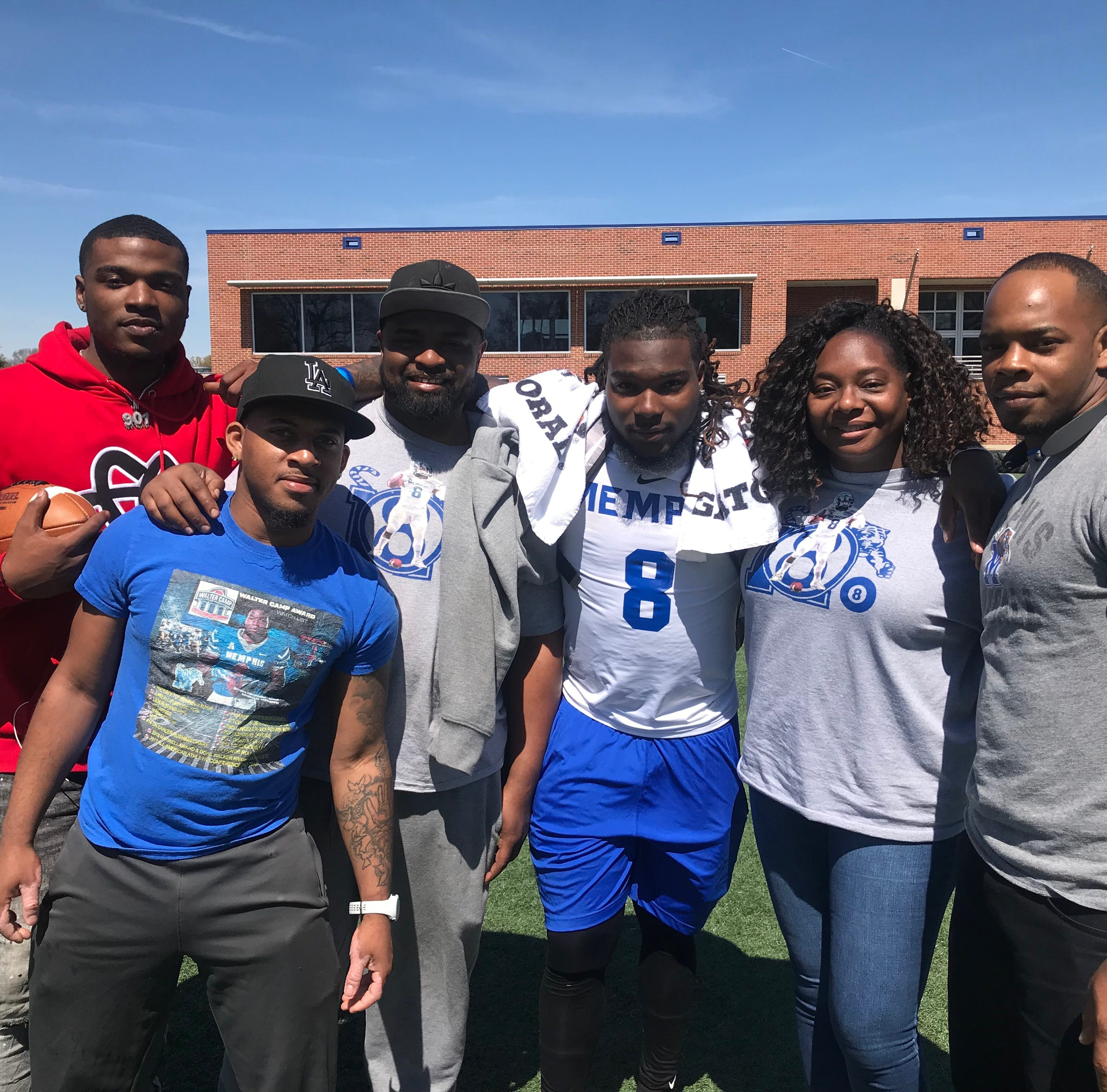 How a close family prepared Darrell Henderson for success with Memphis football, NFL Draft
