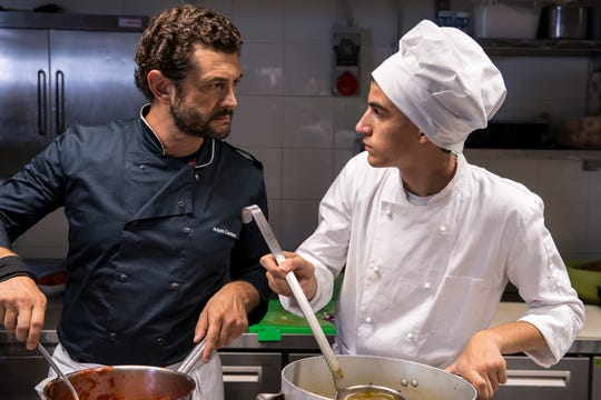 """A chef doing community service at a school for teens with Asperger's learns about them and himself in """"As Needed,"""" one of the offerings at the 2019 Italian Film Festival USA."""