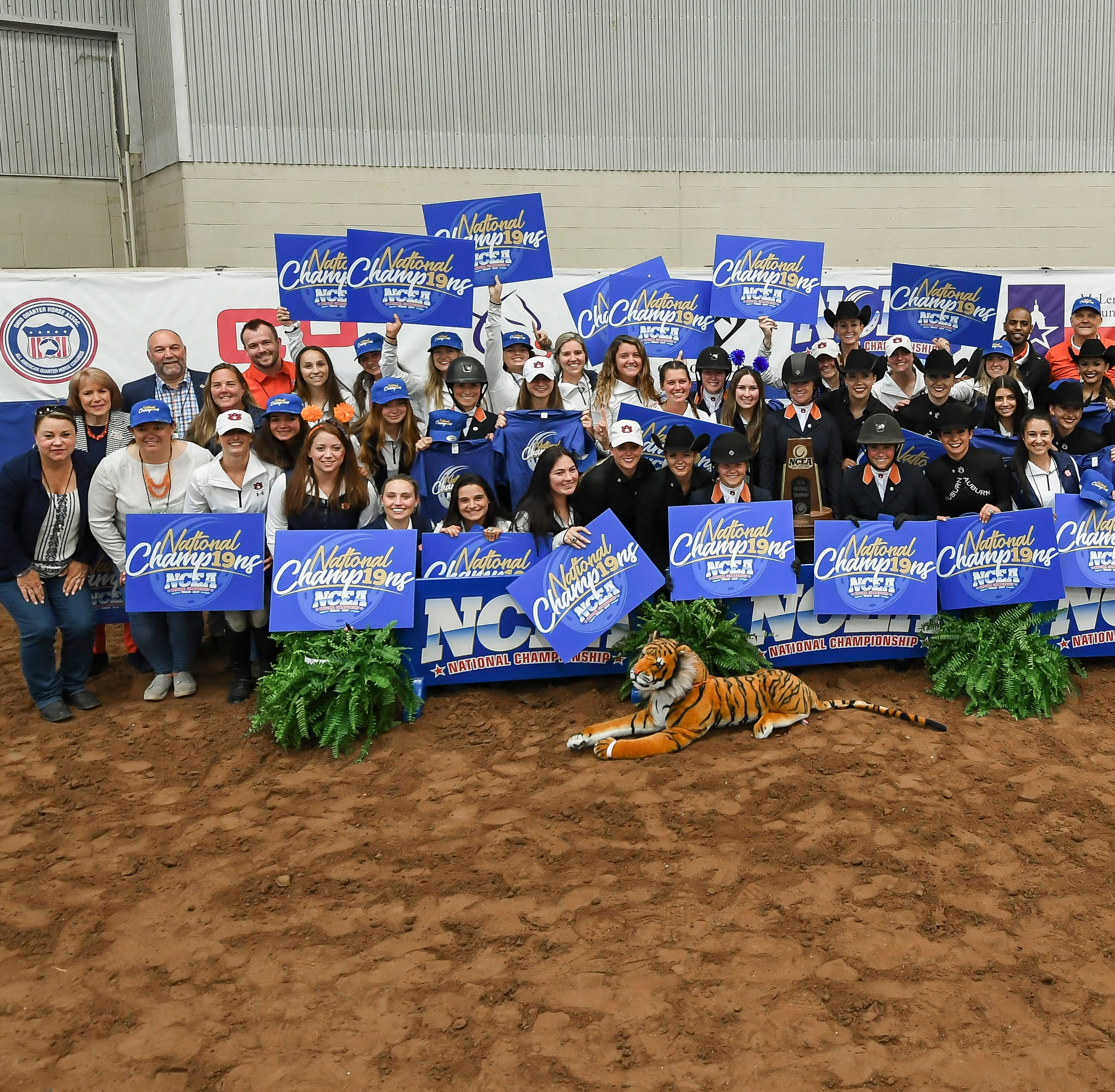 Auburn equestrian caps undefeated season with 6th national championship