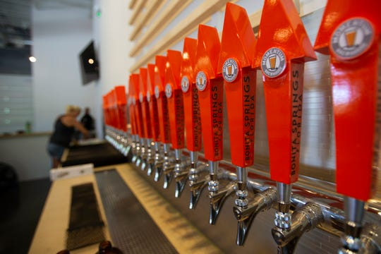 Earn rewards and bragging rights by visiting various area breweries including Momentum Brewhouse in Bonita Springs.