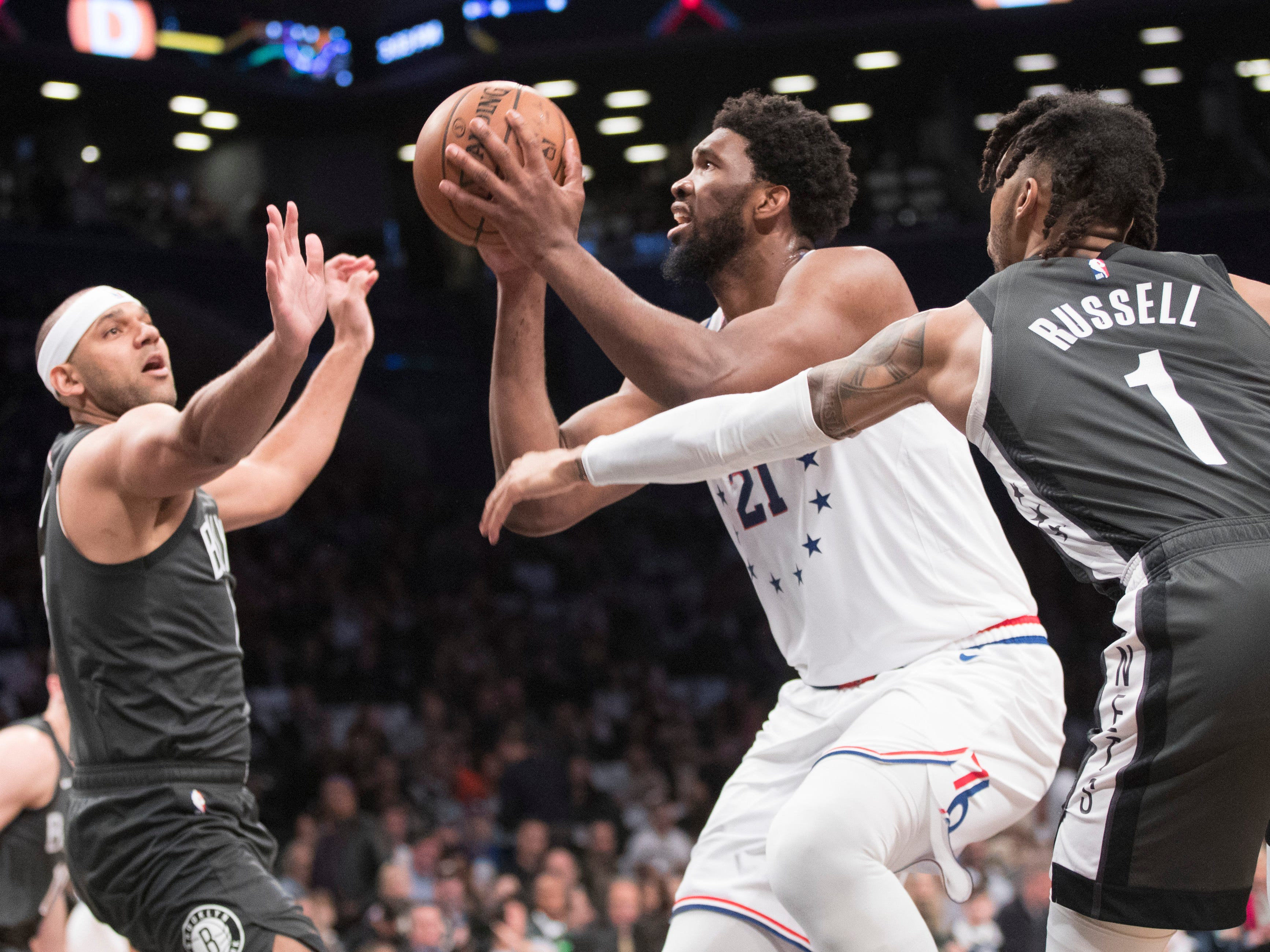 Joel Embiid does it all as Sixers pull out a gutsy win against Brooklyn Nets to take a 3-1 series lead