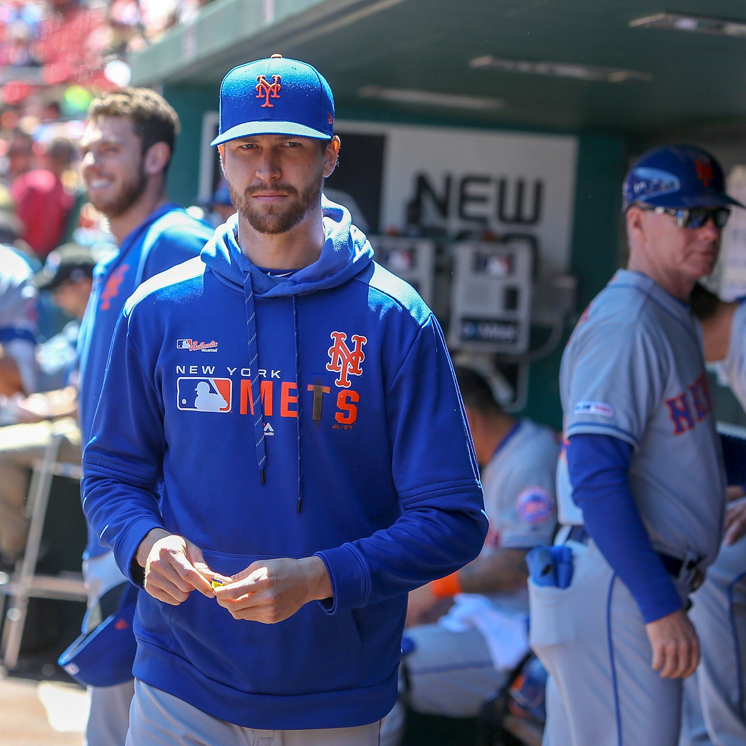 Mets ace Jacob deGrom's MRI comes back clean, no damage