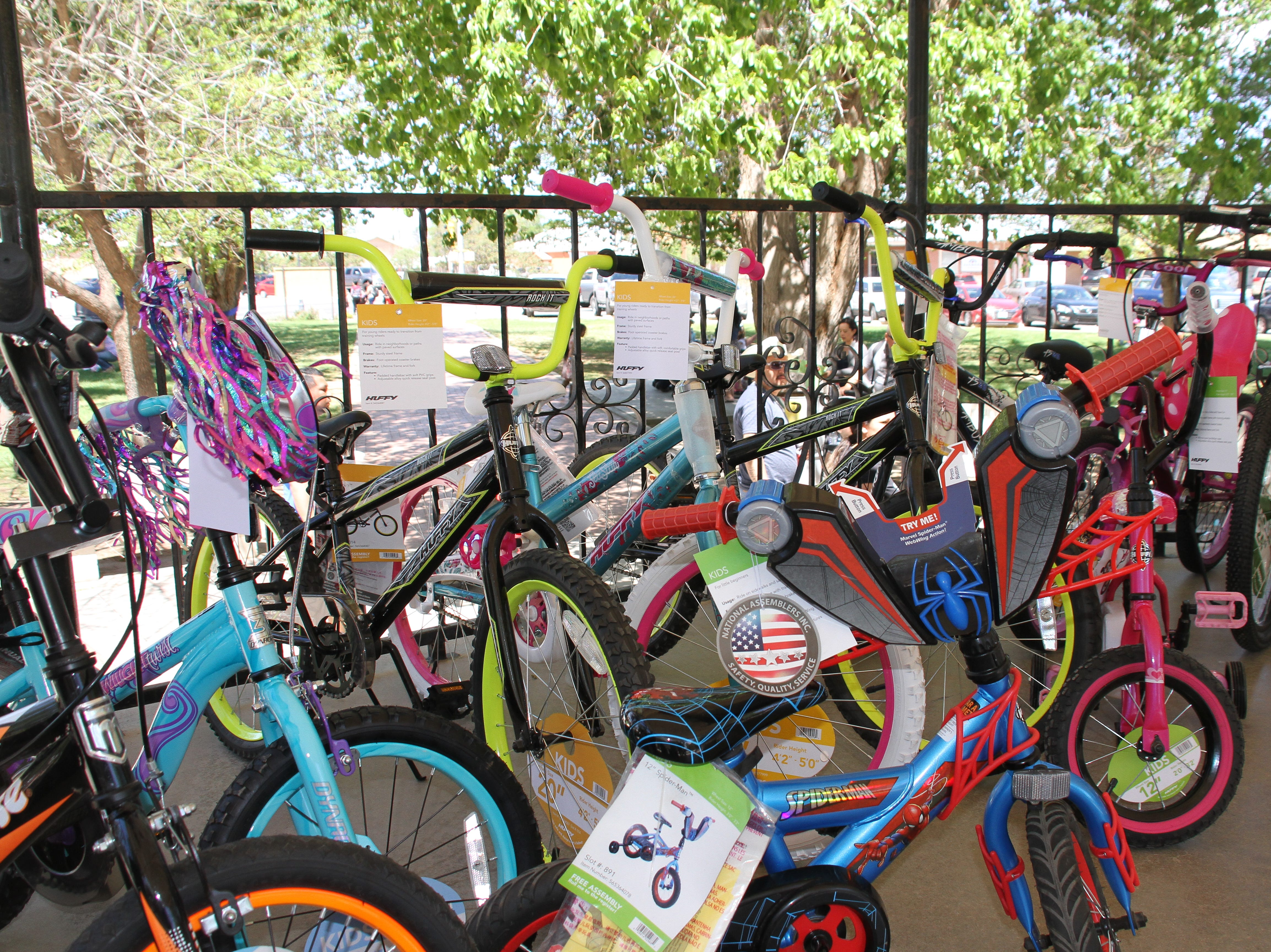 If a child picked an egg that contained a red ticket, their name would have been automatically submitted to a drawing - with the chance to win a bike or other prizes.