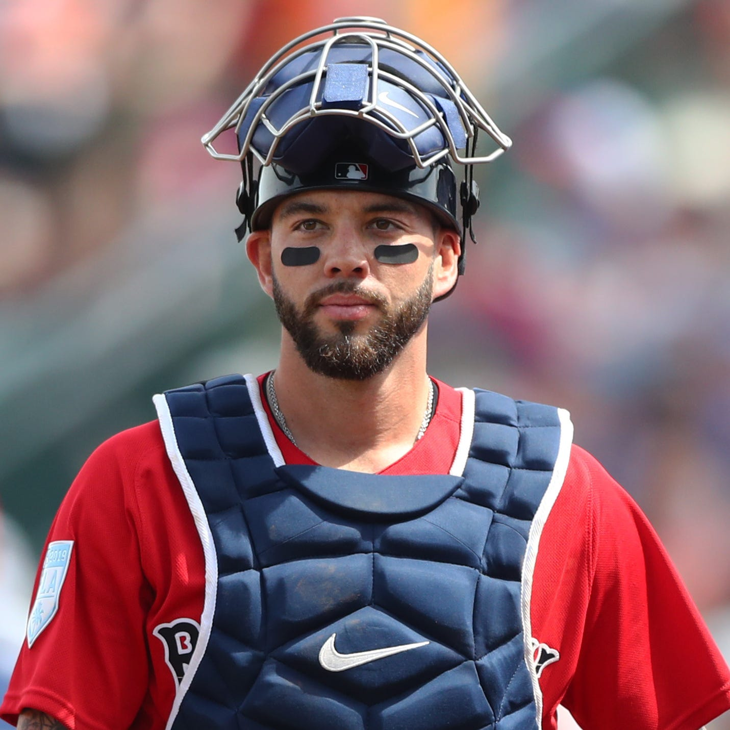 Diamondbacks land versatile Blake Swihart in trade with Red Sox, won't use him at catcher right away