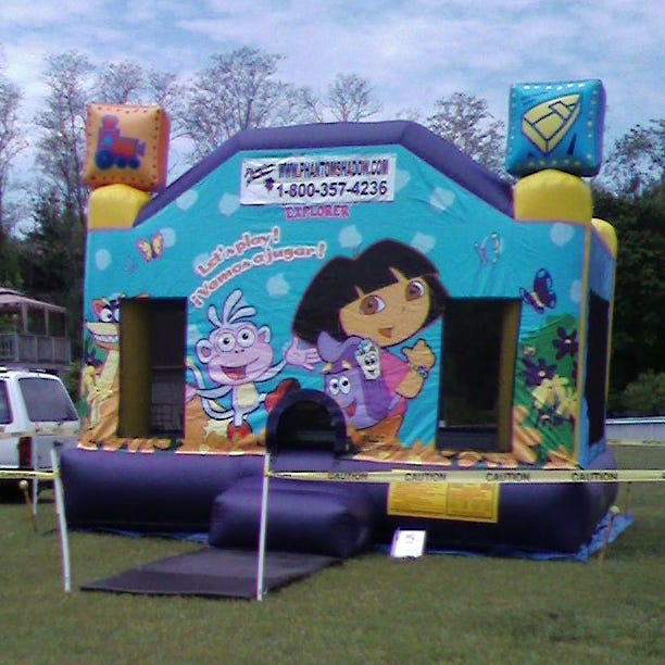 'Dora the Explorer' bounce house stolen in Shippensburg