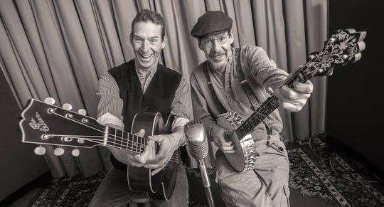 Joe Dady (right) and John Dady, 2014