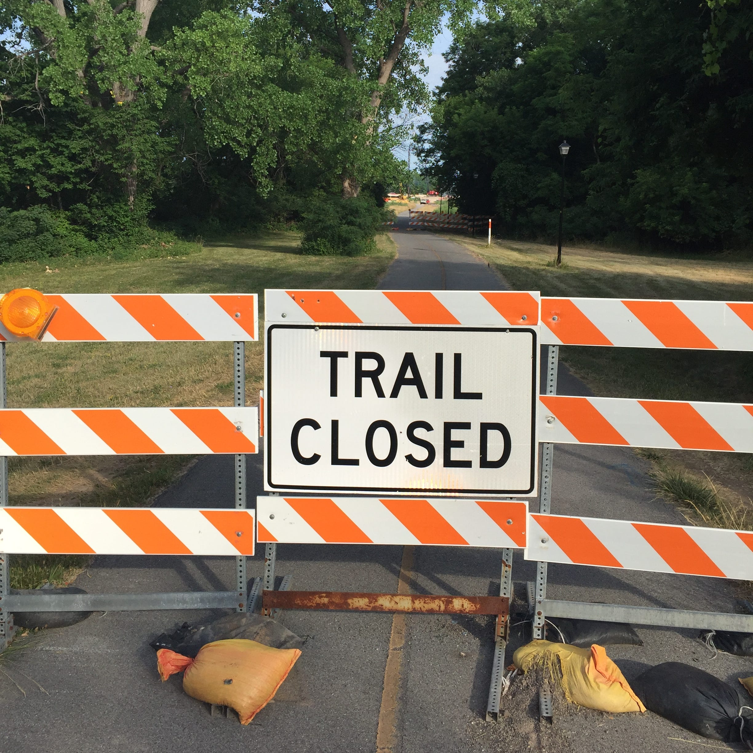 Canal trail near Route 390 in Gates closing for construction