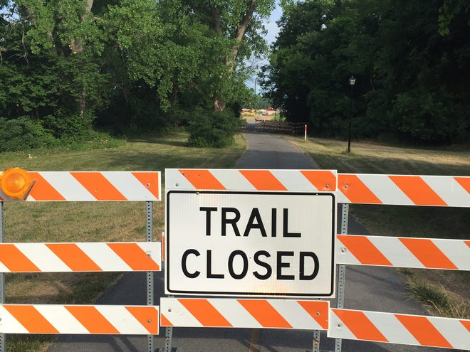 Erie Canalway trail to be closed in Gates