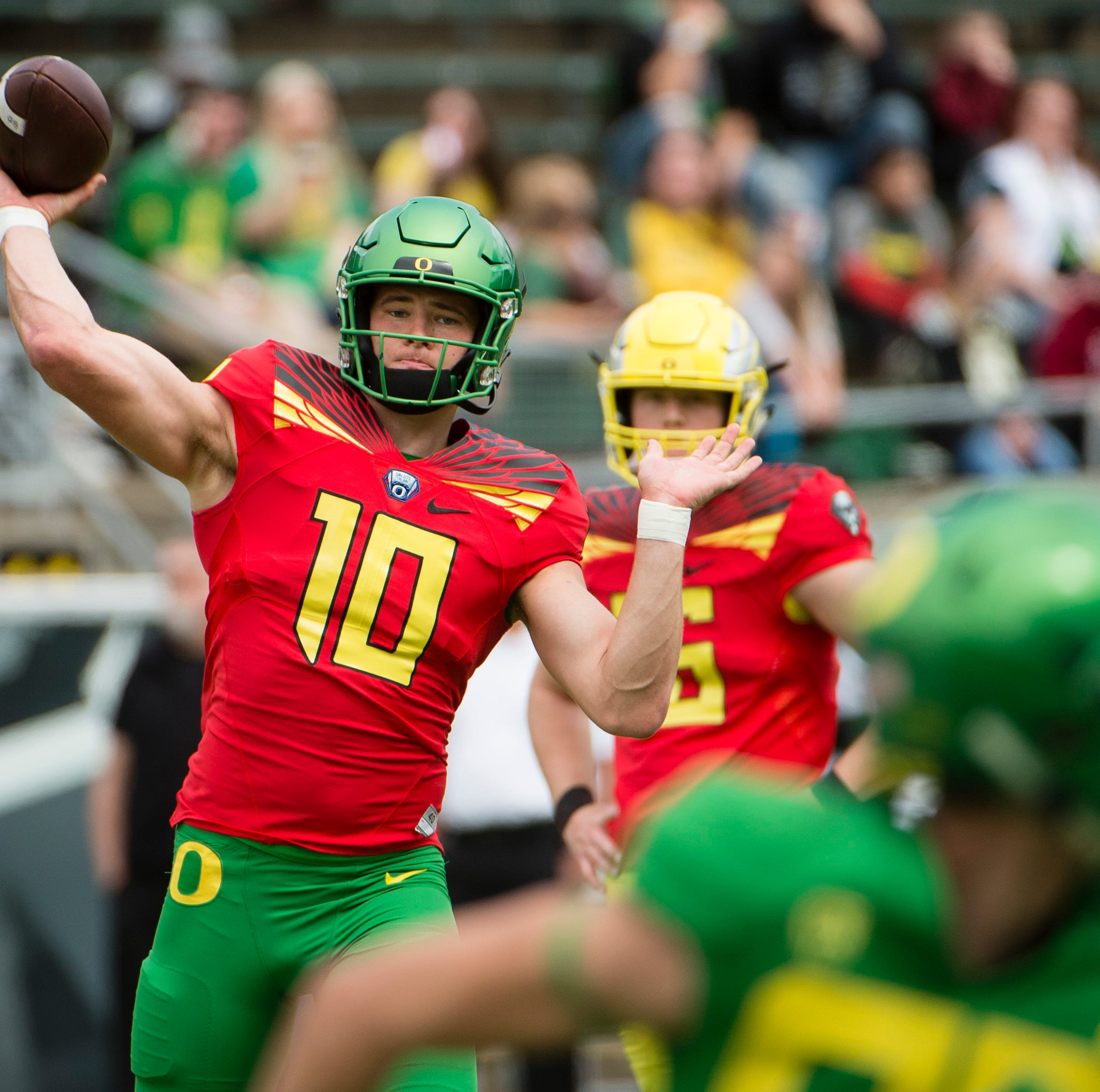 Oregon Ducks: Quarterbacks look strong in spring game