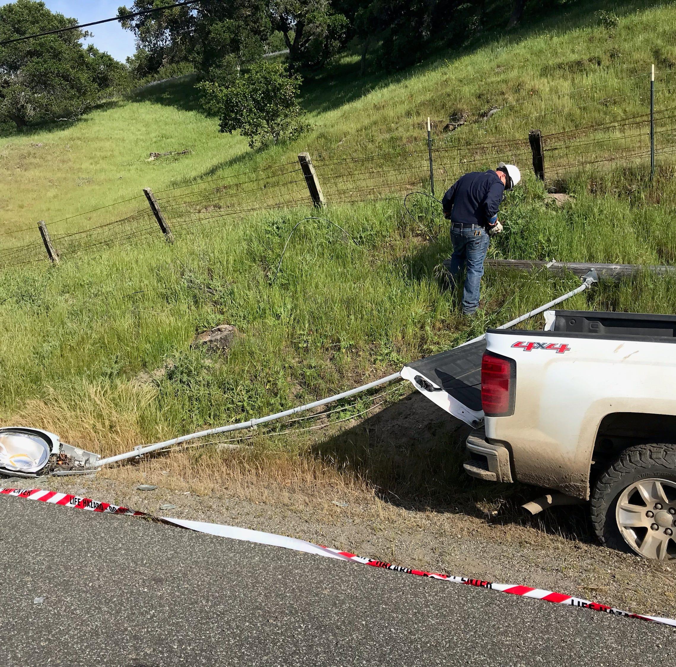 Crash sends girl, 6, to hospital, snarls Hwy 68 traffic near Toro Park