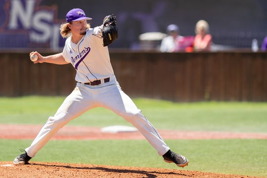 Northwestern State pitcher Nathan Jones dealt a complete-game shutout Saturday in Natchitoches.