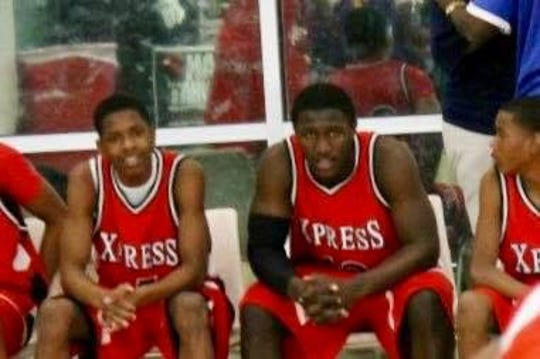 Greedy Williams (left) and Devin White Played AAU basketball together.
