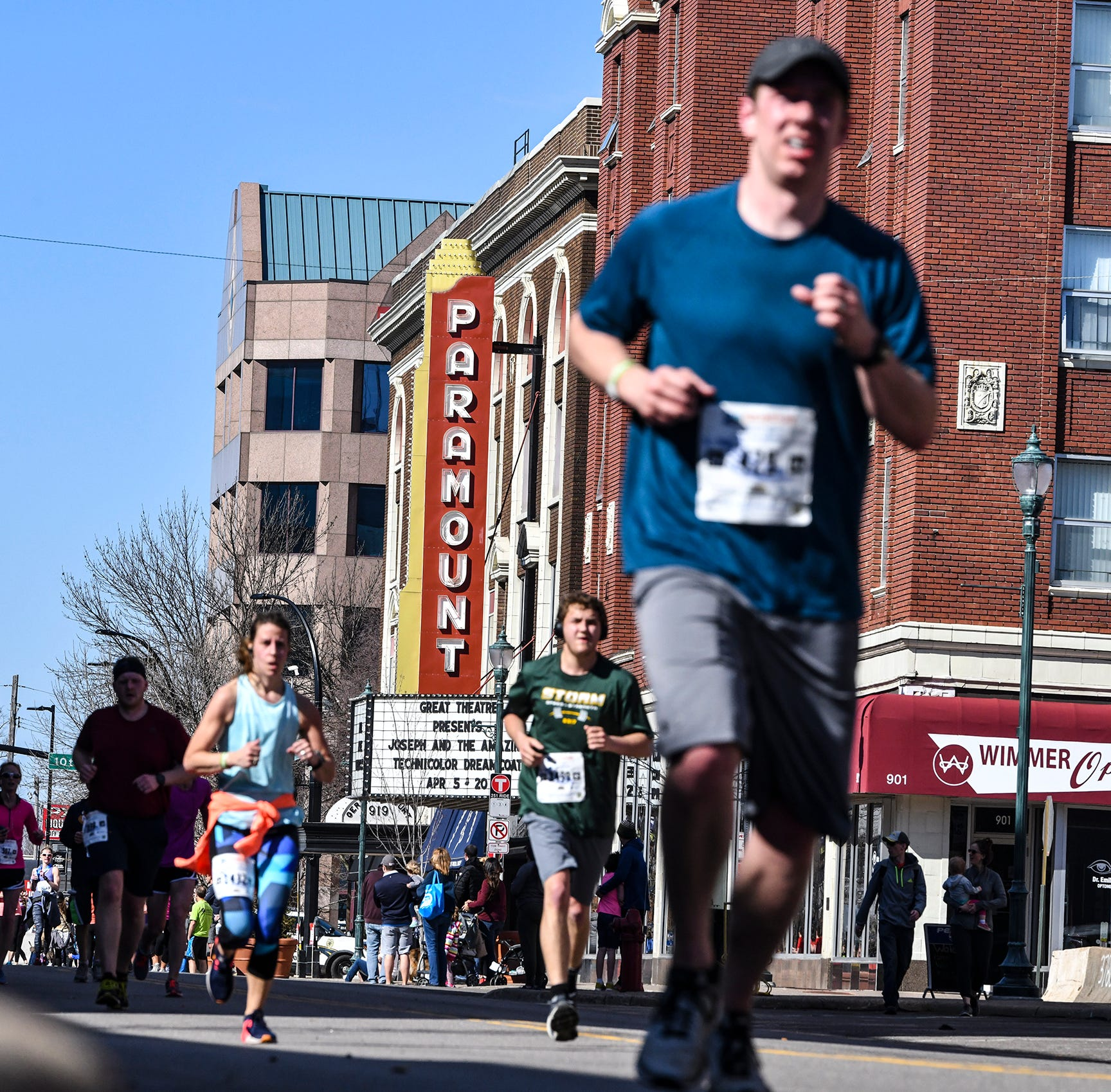 St. Cloud-area runners lead pack in Earth Day half marathon, 5K races