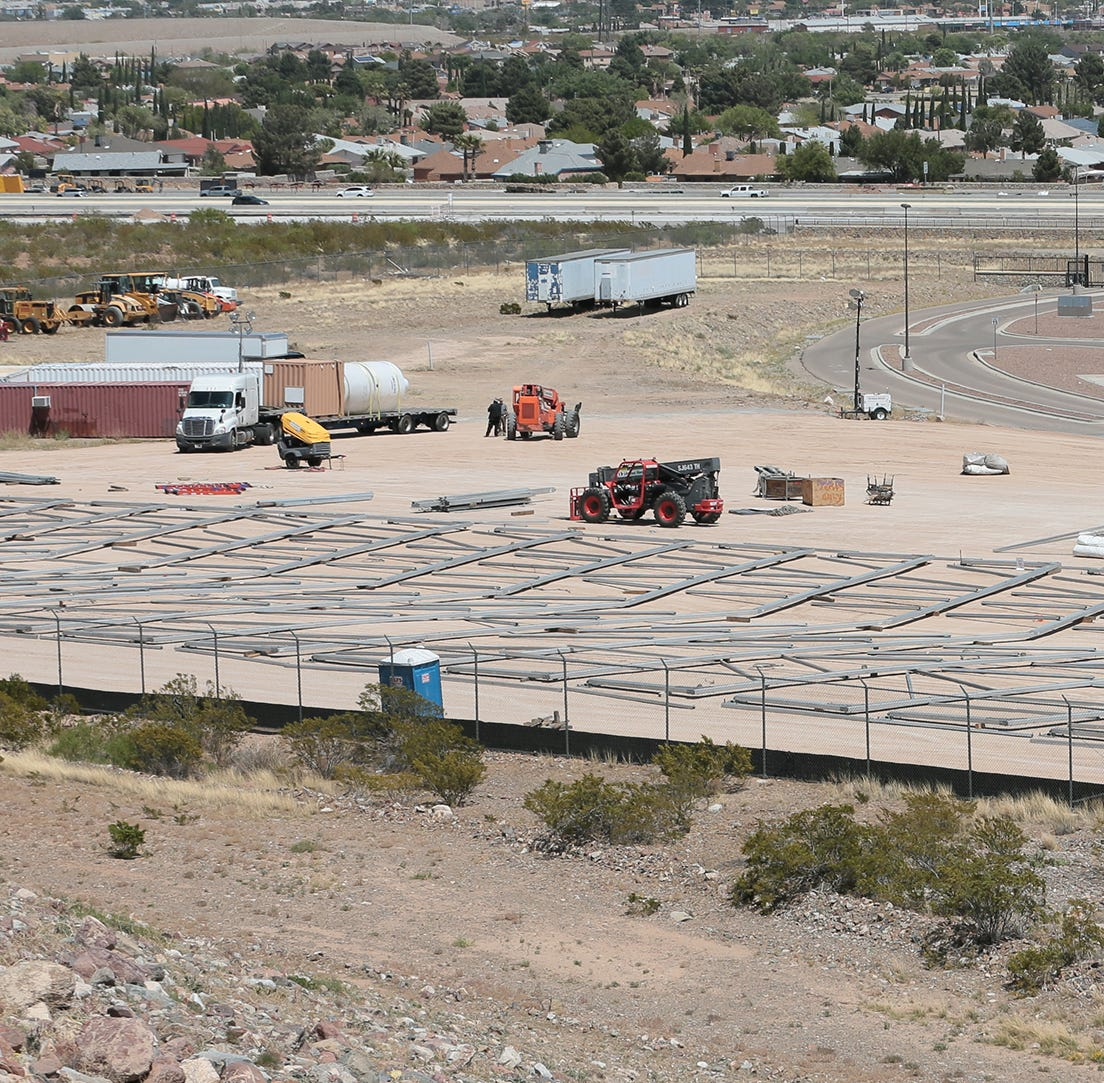 New immigrant holding facility could be operational in El Paso by May 1, CBP says