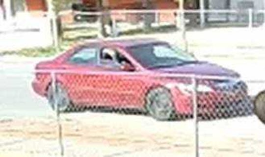 El Paso police say a man who held up Mandi's Groceries at 604 Mauer Road on Monday, March 25, 2019, fled in a red, four-door, older model Mazda 6.