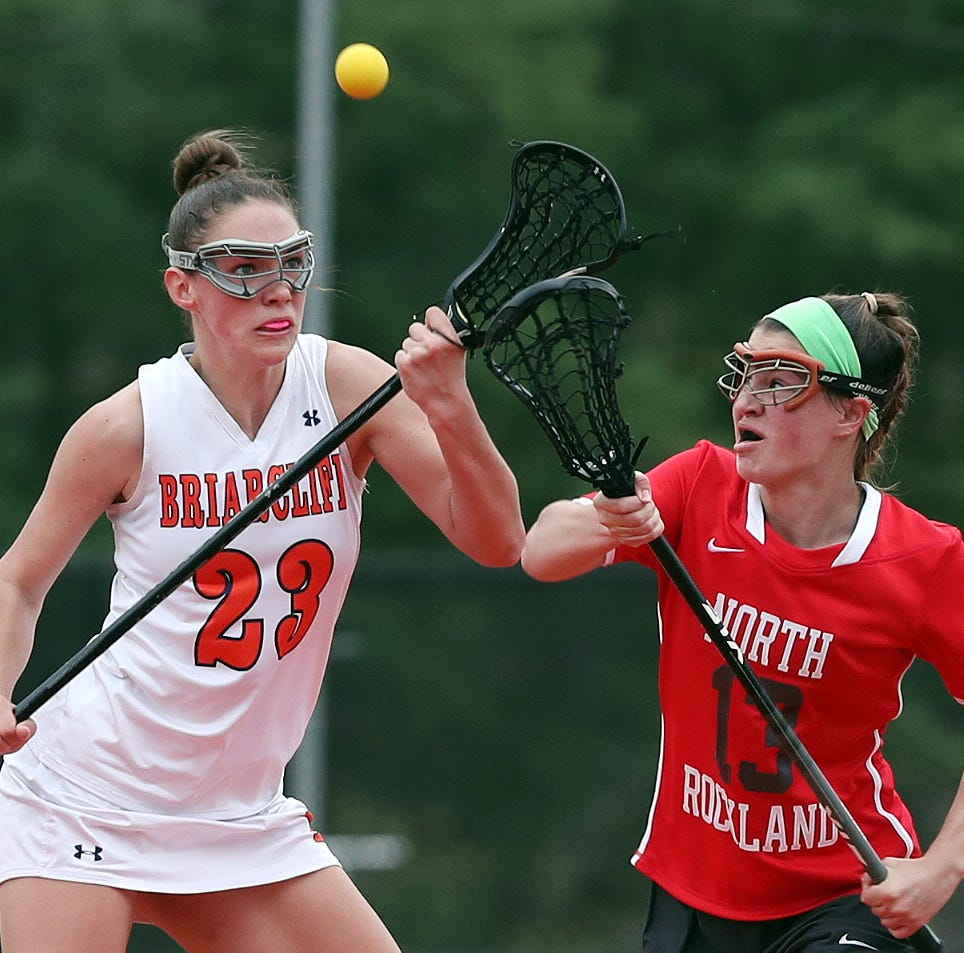 Girls lacrosse: Gutenberger, Mallozzi and Mullarkey lead North Rockland past Briarcliff