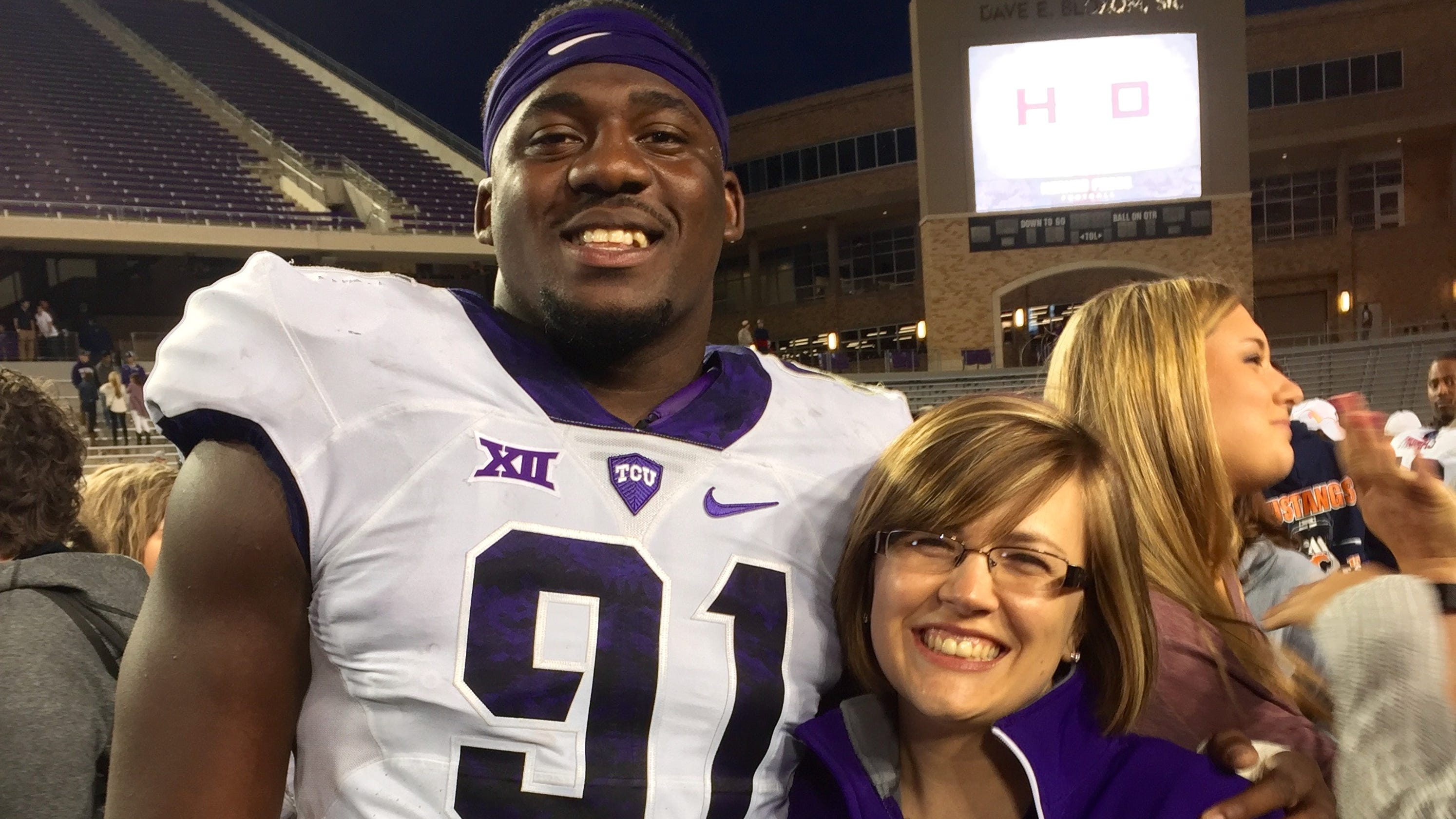 online store 5bed1 5fa2d Munday teacher had big influence on TCU's L.J. Collier as he ...