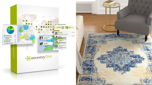 This weekend, you can find amazing deals on everything from DNA test kits to affordable rugs.