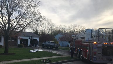 16afe80d28ee Howell man hurt trying to put out garage fire