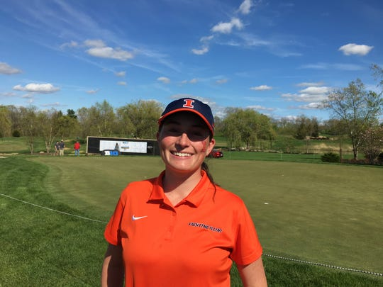 Illinois freshman golfer Katie Hallinan played in high school at Walnut Hills and is a Loveland resident