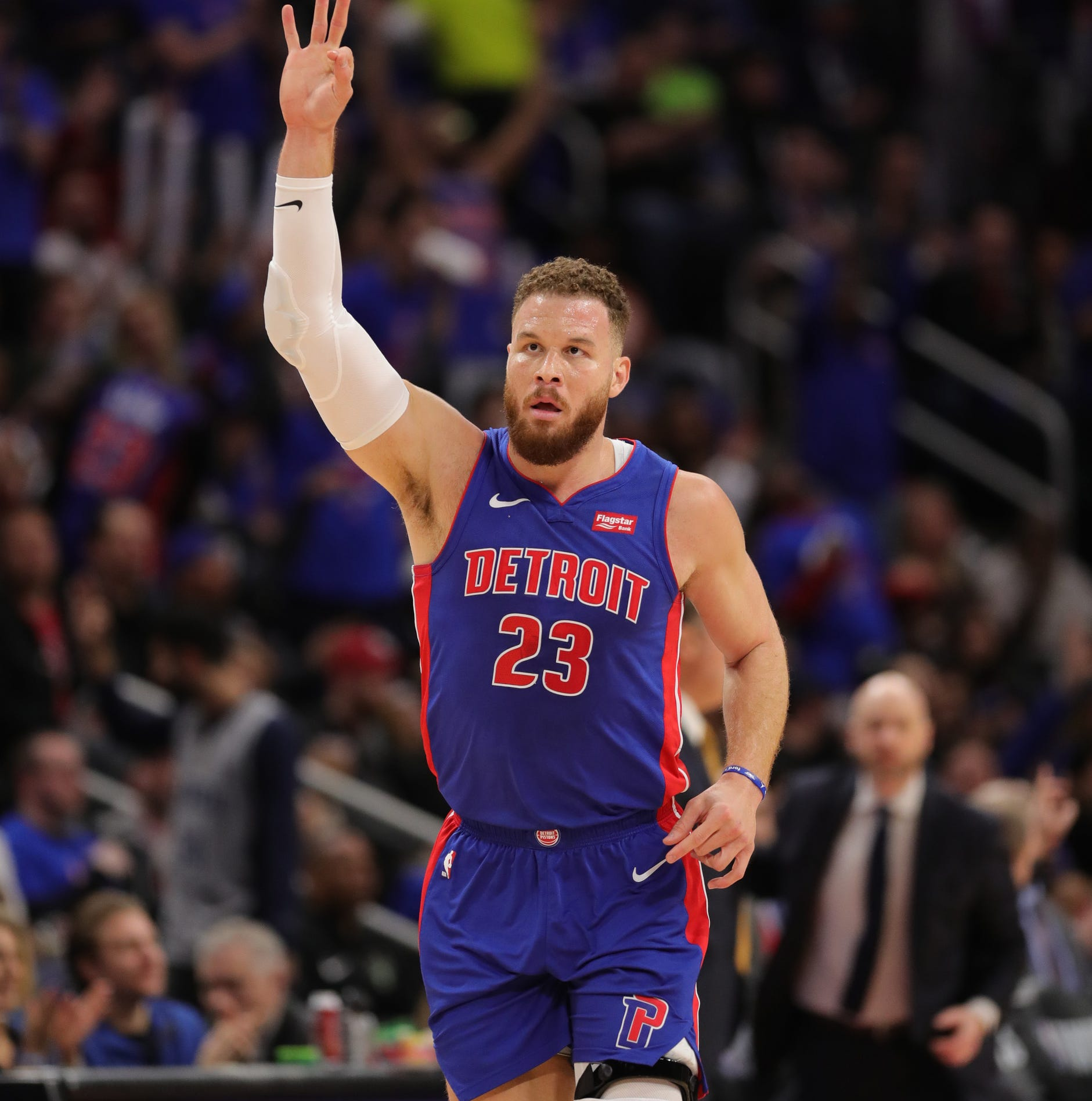 Detroit Pistons' Blake Griffin gives endorsement on franchise direction