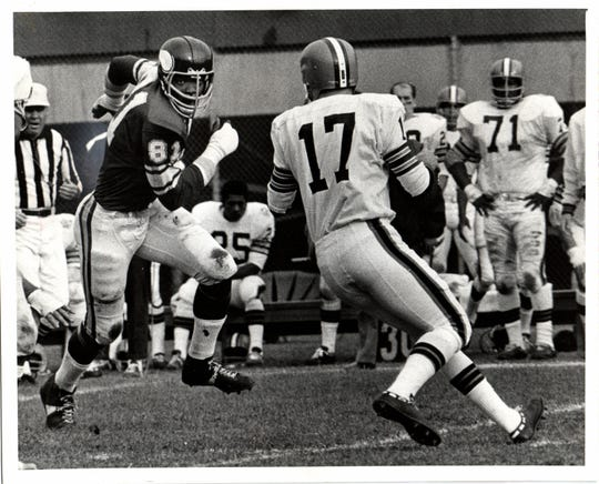 Carl Eller was a fearsome force for the Minnesota Vikings in the 1970s.