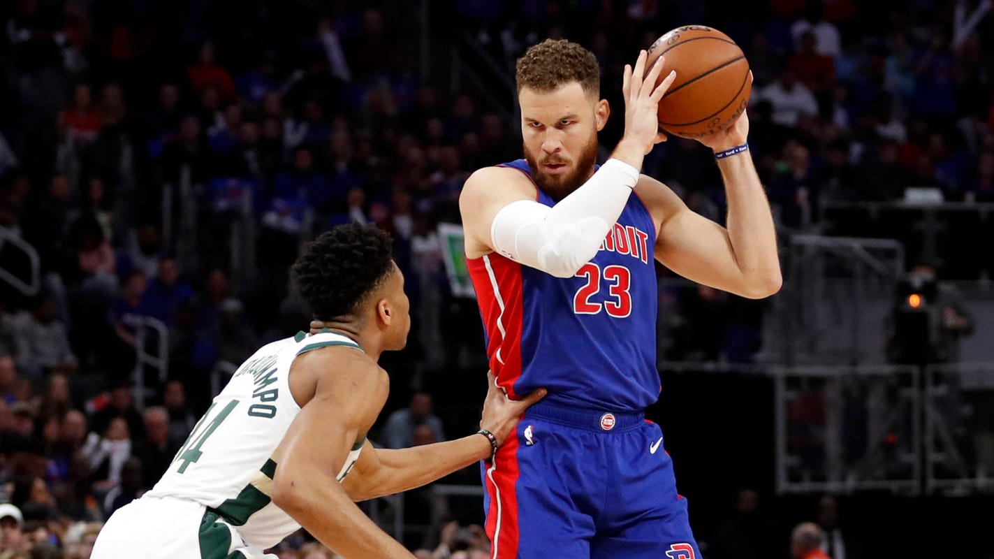 Detroit Pistons' Blake Griffin starts podcast to discuss health, wellness