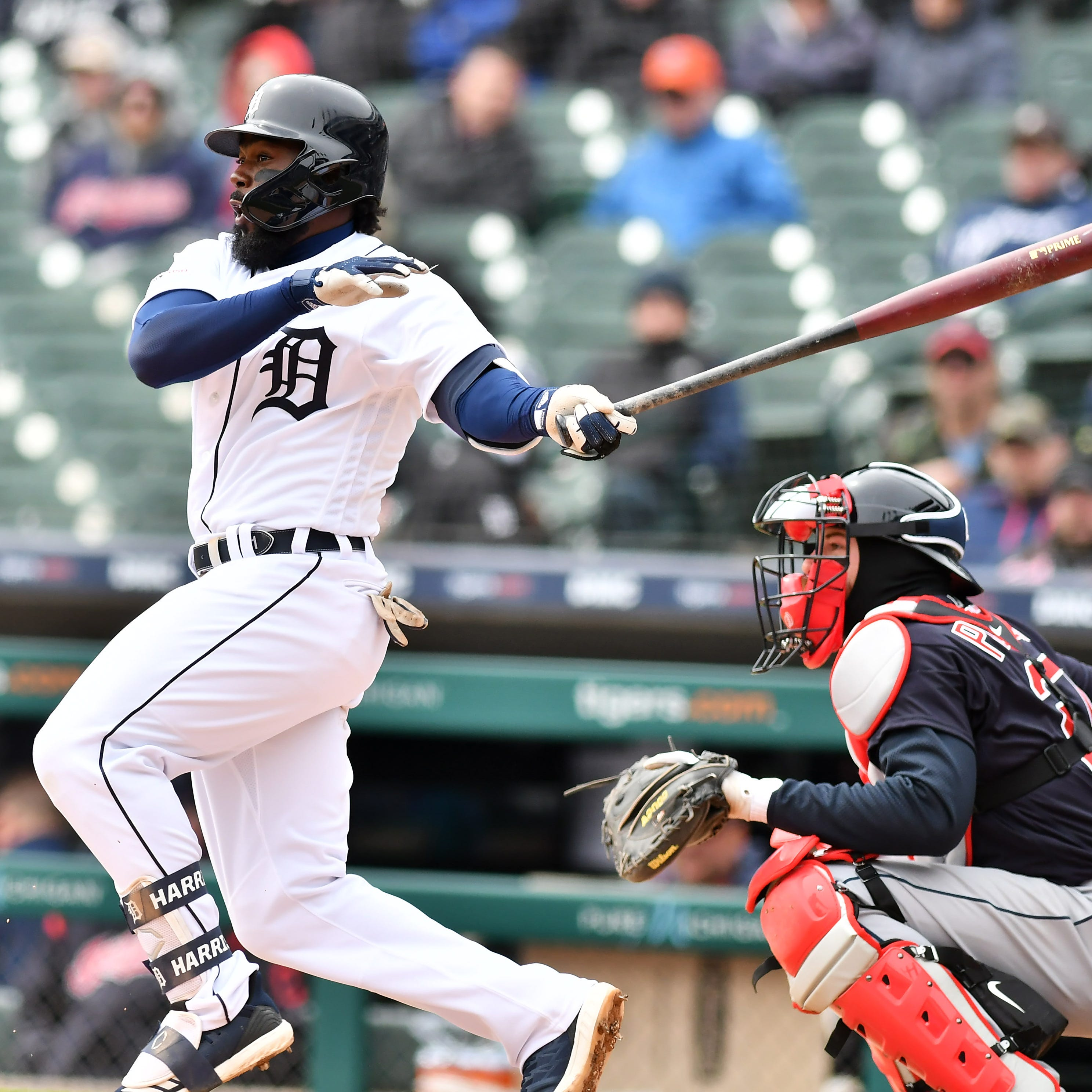 Moving Josh Harrison out of lead-off spot problematic for Tigers