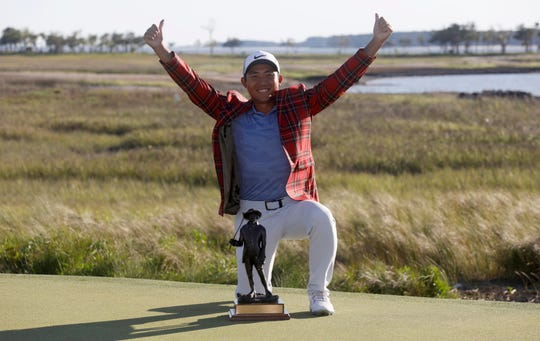 C.T. Pan won the RBC Heritage with a 12-under par for his first PGA victory.