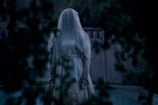 "This image released by Warner Bros. Pictures shows Marisol Ramirez in a scene from ""The Curse of La Llorona."""