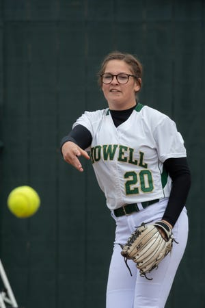 Howell pitcher Molly Carney has committed to Notre Dame.