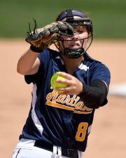 Hartland pitcher Rachel Everett returns this season. She was 19-5 with a 1.80 ERA, striking out 162 last season.