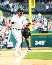 Tigers right fielder Nick Castellanos has changed agents in his final season before free agency.