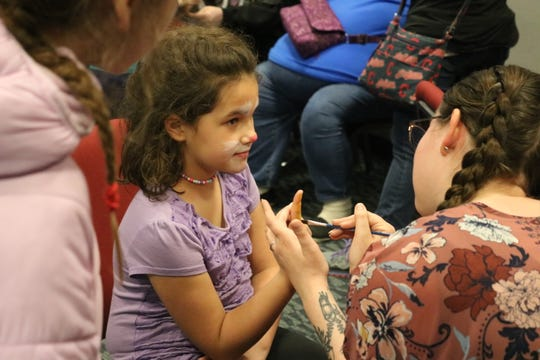 Even indoors, the Hayes Easter Egg Roll still had plenty of fun and games to offer children and the museum also was open to explore at no cost. The biggest hit was the face painting.
