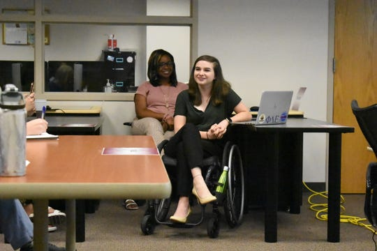 Victoria Potter was diagnosed with postural orthostatic tachycardia syndrome and wants to increase awareness about accessibility on campus.