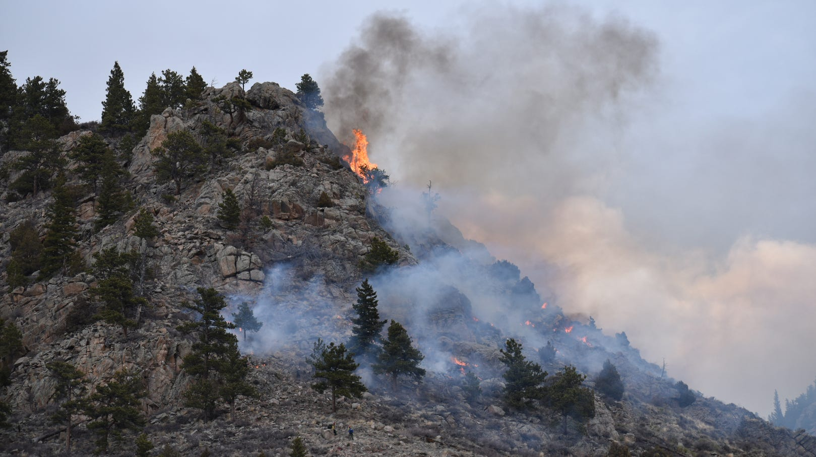Seeing smoke in the foothills west of Fort Collins? Here's why.