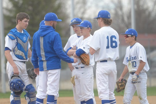 The Fossil Ridge vs. Poudre baseball game at City Park has been rescheduled for 6:30 p.m. Friday.