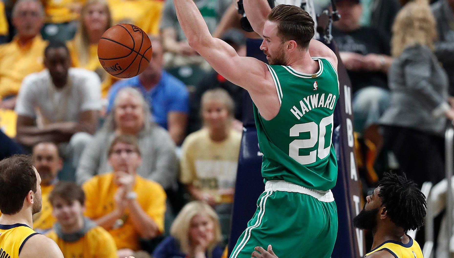 Doyel: Gordon Hayward leads Celtics' sweep of his childhood team, the Pacers