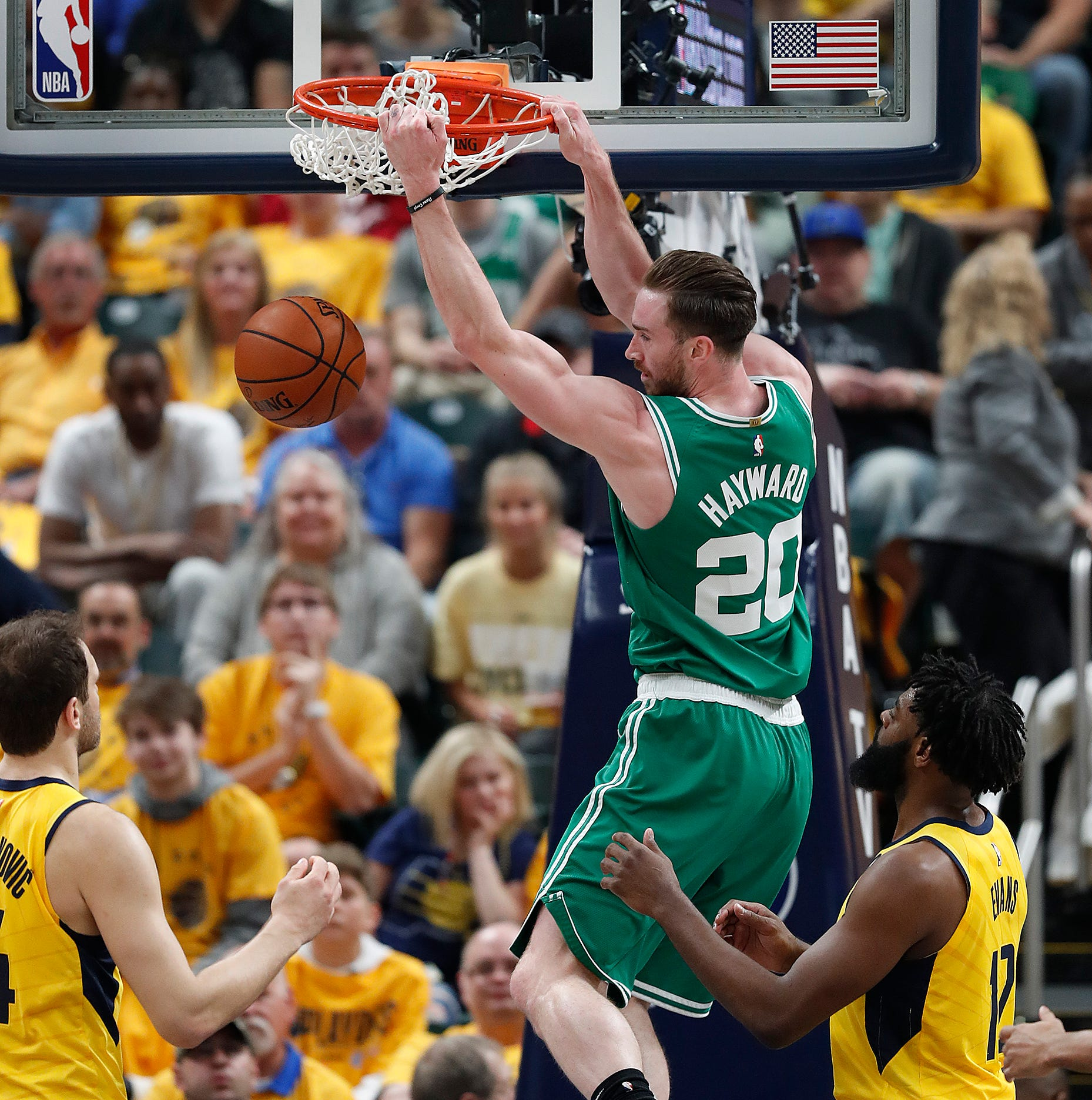 Doyel: Gordon Hayward leads Celtics' sweep of his childhood team, the Pacers