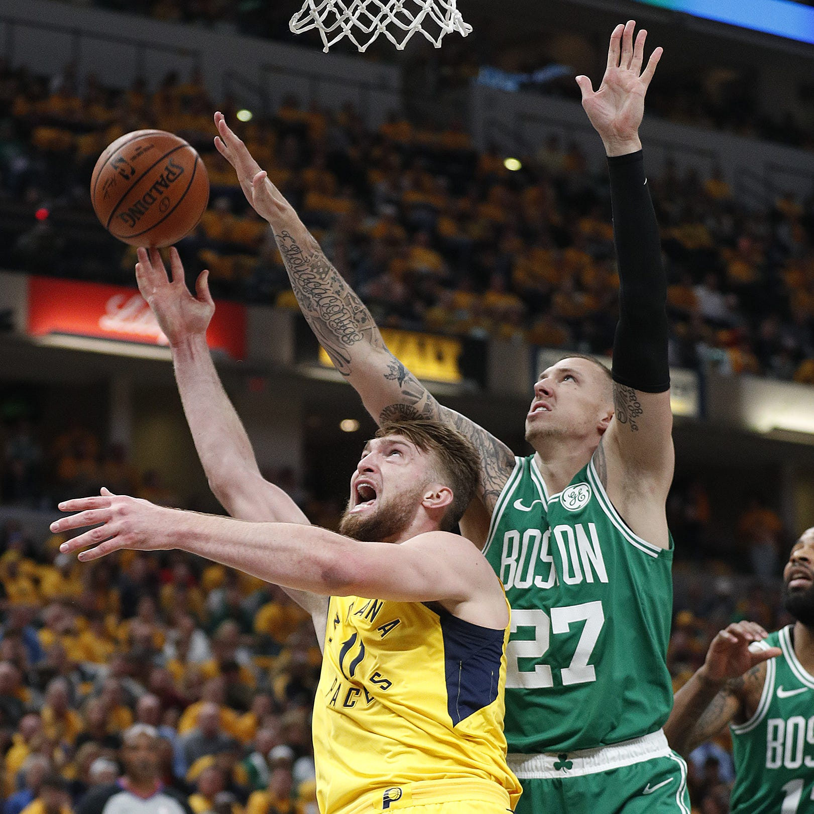 Celtics hit Pacers with 4th-quarter surge to sweep 1st-round playoff series