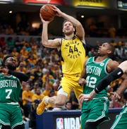 Indiana Pacers forward Bojan Bogdanovic figures to be a highly-sought after free agent this offseason.