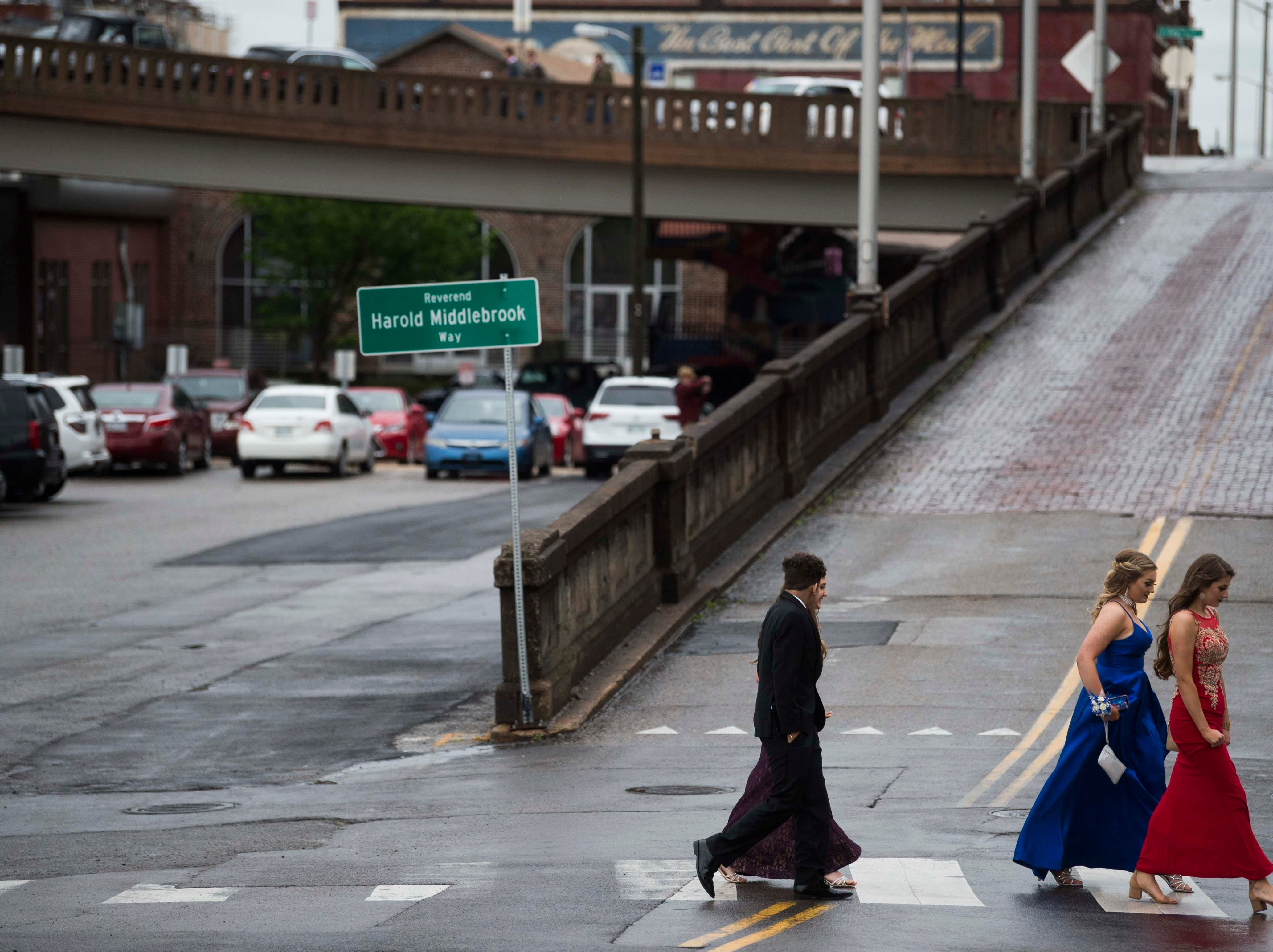 Scenes from Fulton High School's prom at The Standard in downtown Knoxville, Saturday, April 20, 2019.