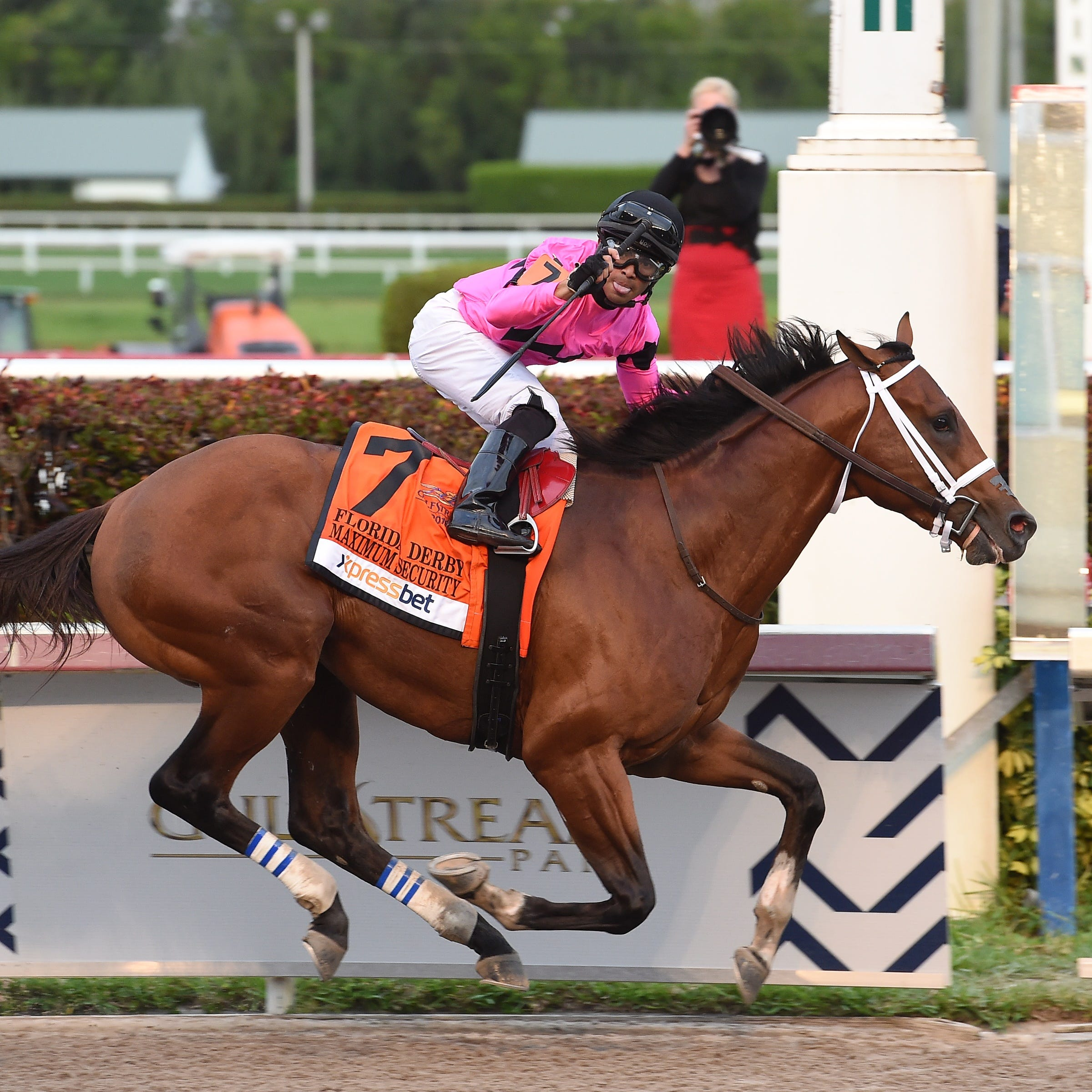 Undefeated Maximum Security is a puzzling Kentucky Derby contender