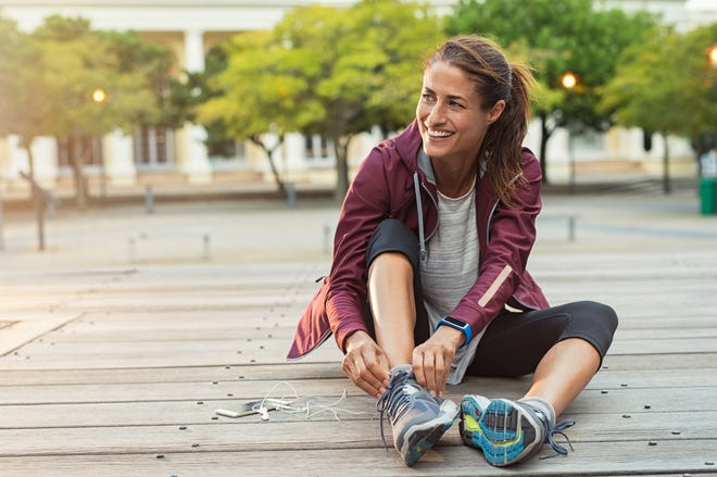 After you're done, the American Heart Association recommends a cool down that lasts for 5 minutes.
